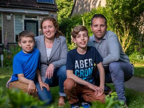 Eindelijk, de familie Corstiaans kan vanuit Oisterwijk terug naar Amerika
