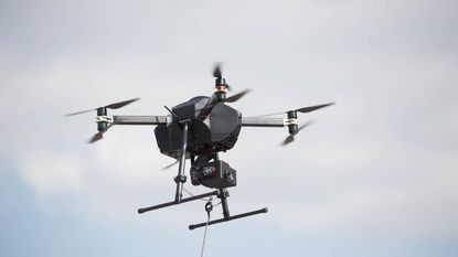 Testvlucht eerste intelligente drone