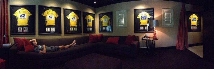De foto bij de tweet van Lance Armstrong.