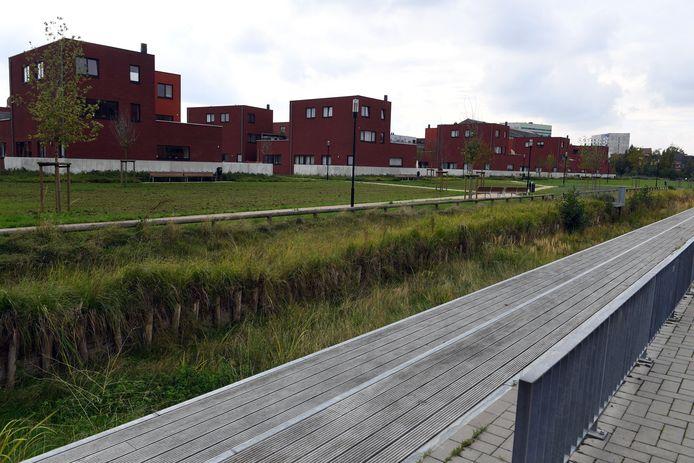 Het plein aan de Centrale Werkplaatsen in Kessel-Lo krijgt een buurtbos.