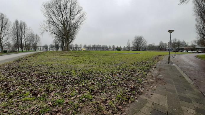 Nu is Vlijweide nog een braakliggend terrein.