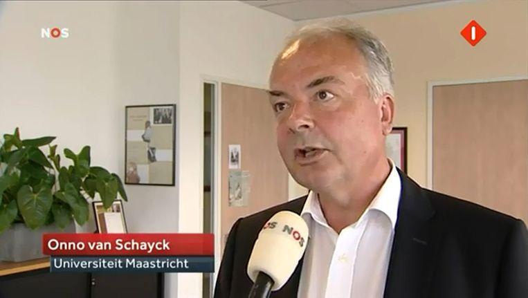 Onno van Schayck Beeld NOS/ YouTube