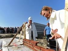 Eerste steen 80 woningen Bosselaar-Zuid in Zevenbergen