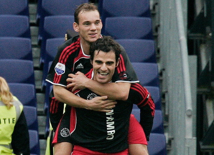 Kenneth Pérez en Wesley Sneijder (2006).