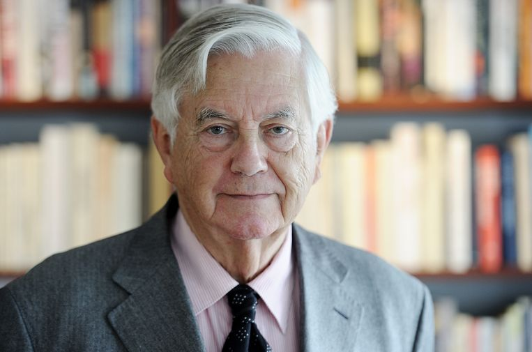 Frits Bolkestein is oud-VVD-leider en oud-eurocommissaris. Beeld null