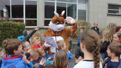 Idee Kids-kamp krijgt paashaas op bezoek