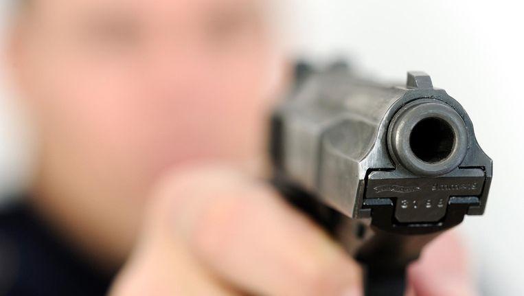 De Walther P5, het dienstwapen van de politie. Beeld anp