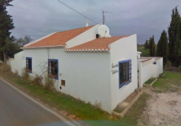 Het huis in de Algarve waar de Duitser volgens de politie leefde.