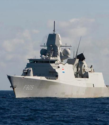 Marineschip Evertsen na half jaar weer terug in Nederland