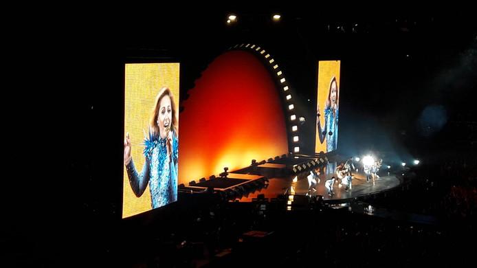 De show van Helene Fischer in het Gelredome.