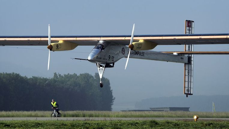 De Solar Impulse. Beeld afp