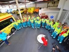 Landelijke actie ambulancepersoneel in Helmond afgetrapt