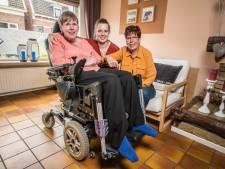 Nog klein beetje geld nodig: bekenden én onbekenden helpen Gerdien (52) uit Almelo aan rolstoelbus