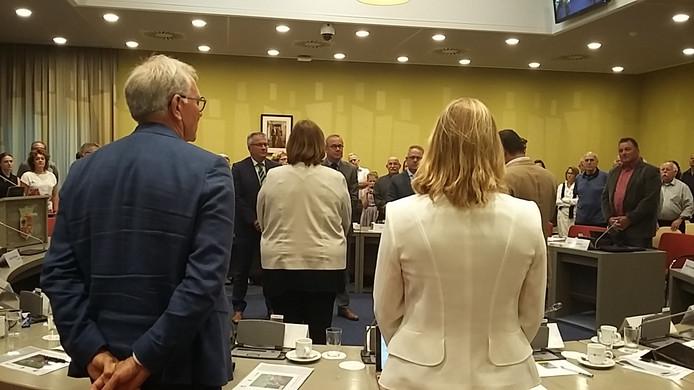 Beuningen heeft drie nieuwe wethouders: Piet de Klein, Henk Plaizier en Pim van Teffelen.