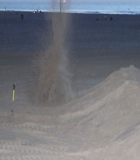 Amerikaanse granaat uit WO II tot ontploffing gebracht in Scheveningen