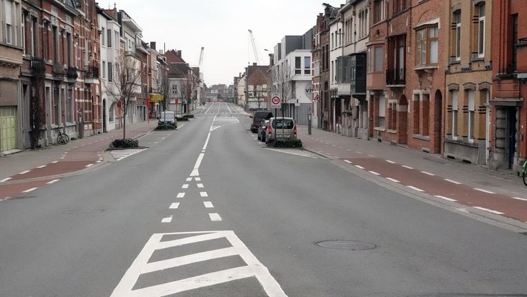 Nog een verlaten beeld van de Beheerstraat