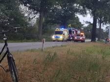 Man gewond bij eenzijdig ongeval  tussen Groenlo en Winterswijk