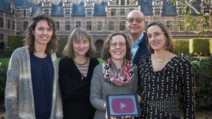 Lessen boekhouden scoren op YouTube-kanaal van Universiteit Antwerpen
