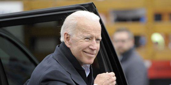 Joe Biden kondigt donderdag aan dat hij kandidaat is om Amerikaans president te worden