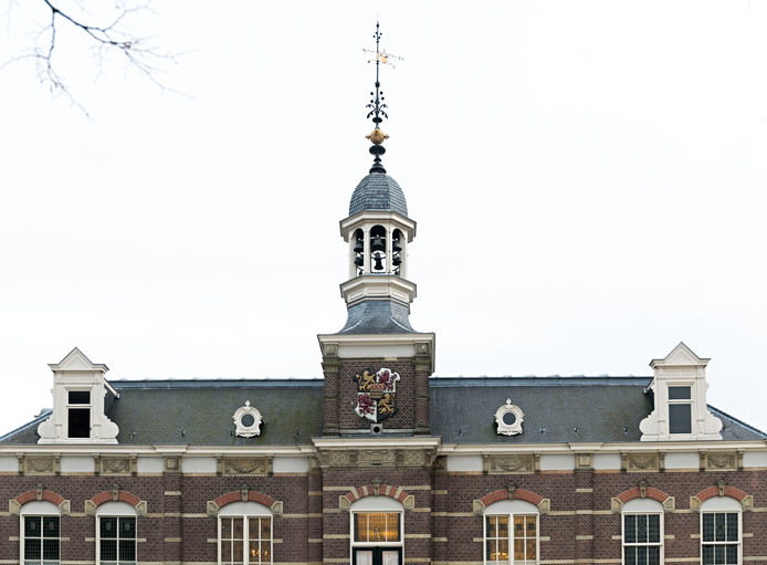Carillon van het gemeentehuis in Deurne .