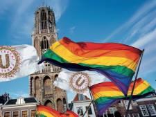 Campagne voor Zwols LHBTI-feestje tijdens vaartocht in Utrecht