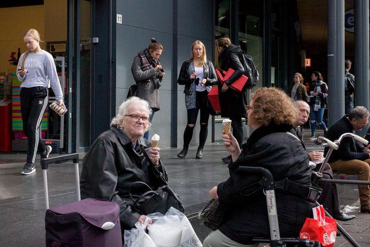 Dit is het Amsterdam waar we trots op zijn: een combinatie van oud en jong Beeld Rink Hof