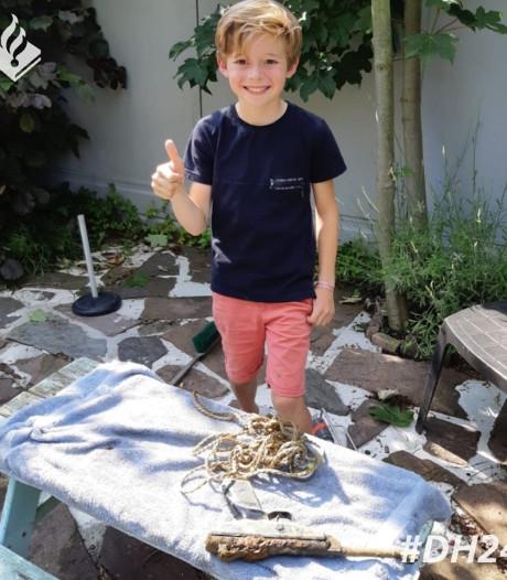 Kind vindt pistool in sloot in Zevenhuizen