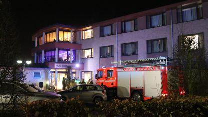 Hulpdiensten massaal aanwezig na brandmelding in rusthuis Moerzeke