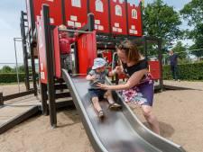 In speeltuin Hoge Neer in Etten-Leur kun je uren spelen met een waterpomp