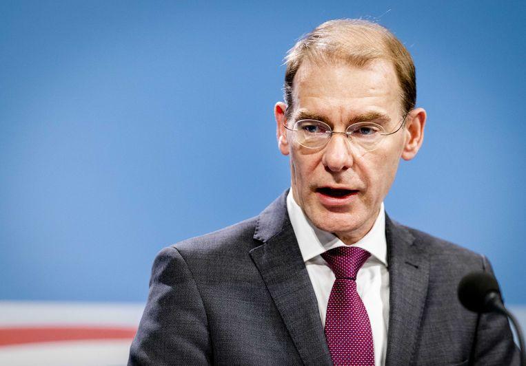 Staatssecretaris Menno Snel van Financiën. Beeld Sem van der Wal