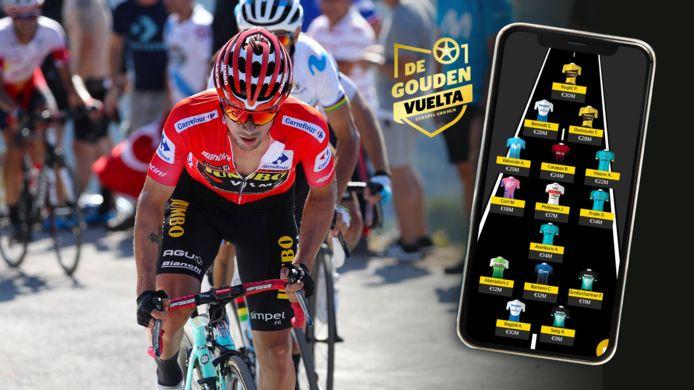 De Gouden Vuelta-ploeg van onze redactie.