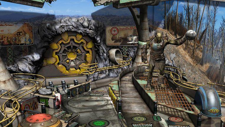 Amokmaker in de flipperautomaatversie van Fallout. Beeld Zen Studios