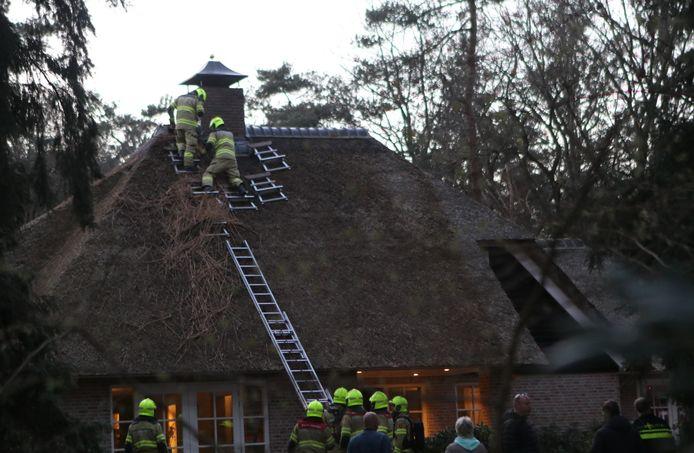 Brand in woning Voorthuizen