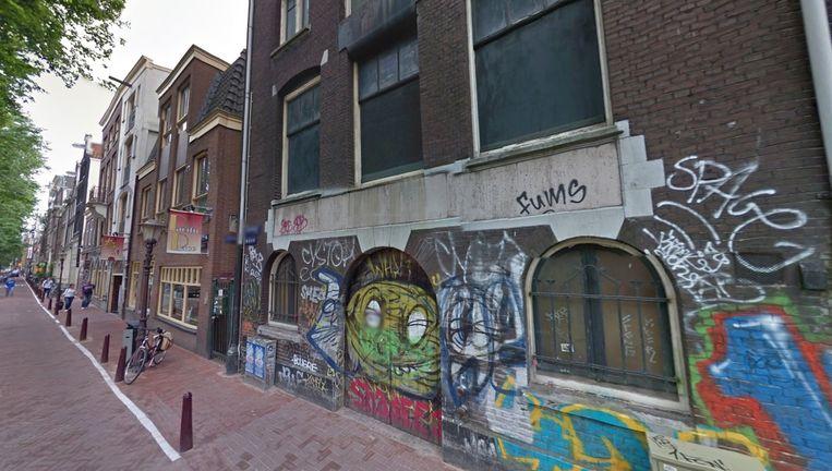 De hoek Geldersekade en Elleboogsteeg. Beeld Google Street View
