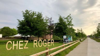 Hollywood Letters aan pop-up 'Chez Roger'