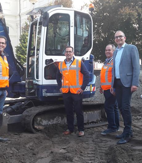 Wegenbouwer Oomen gaat voor korte pijn in centrum Oudenbosch