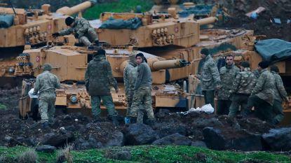 """VN: """"Op één dag al 5000 vluchtelingen door Turks offensief in Syrisch Afrin"""""""