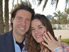 Oscar Kazàn vraagt vriendin ten huwelijk tijdens wilde rit