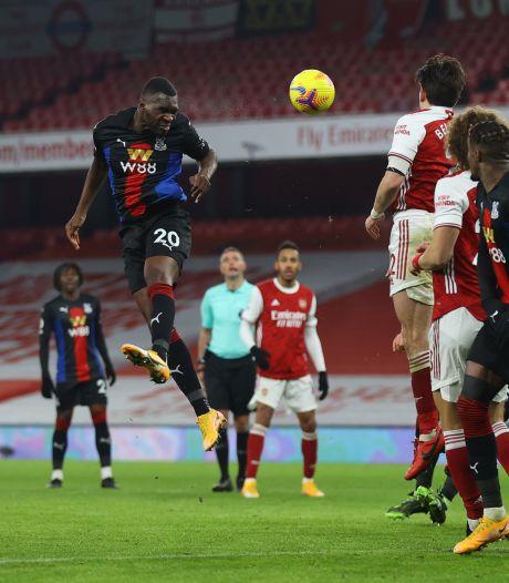Crystal Palace stopt zegereeks Arsenal