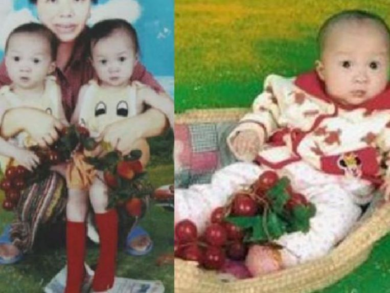 De bewuste babyfoto van de meisjes waarmee alles begon