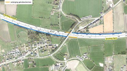 Geluidsschermen langs E17 worden uitgebreid