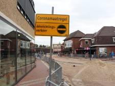 Corona-eenrichtingsverkeer in Eibergen: 'Maar dan moet ik een heel eind omlopen!'