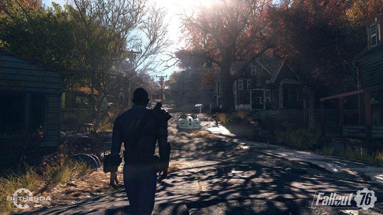 De wereld na de bom van 'Fallout 76' doorkruis je voor het eerst niet alleen.