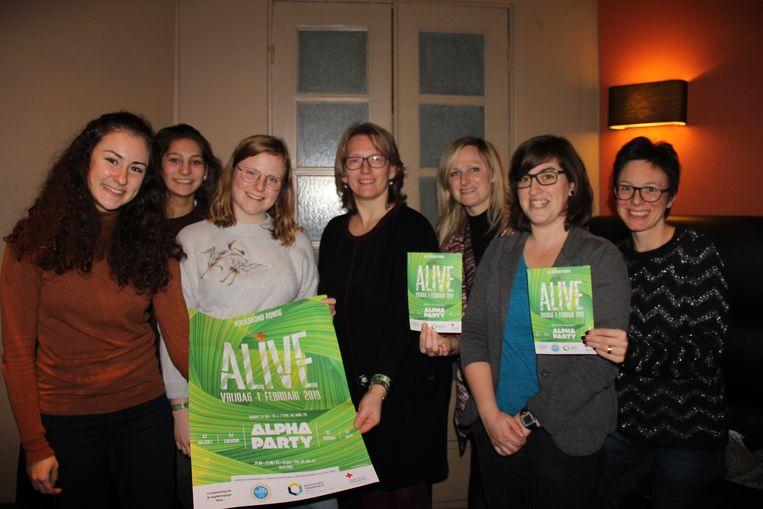 Het Rode Kruis Ronse - Kluisbergen organiseert Alive: een fuif waar jongeren ook gesensibiliseerd worden.