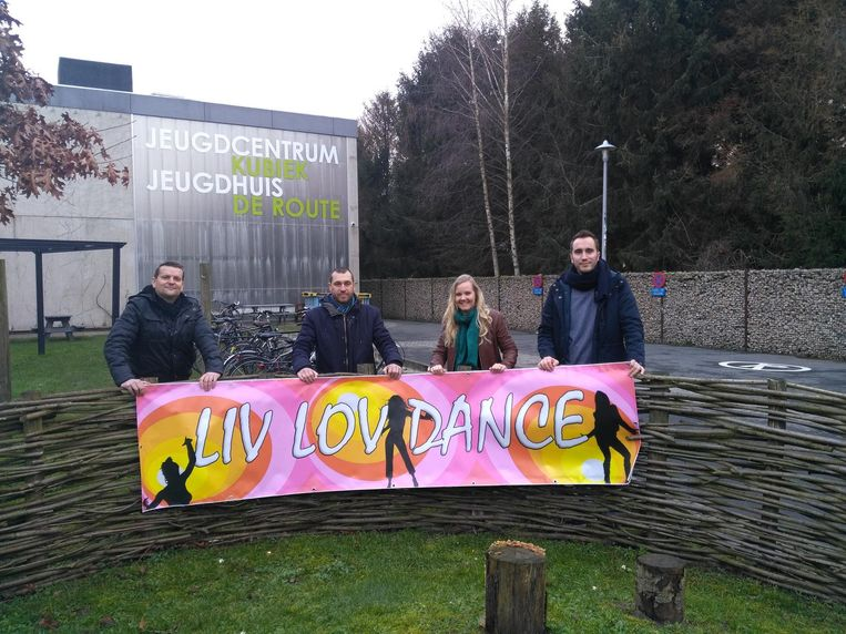 De vrienden van Philippe Jacobs organiseren Liv Lov Dance in zaal Kubiek.