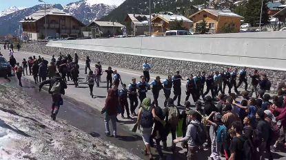 Frankrijk versterkt grensbewaking na incidenten in de Alpen