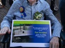 Bankje voor 100-jarige Piet Vereijken uit Beek en Donk