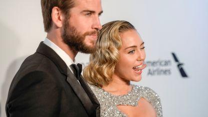 Miley Cyrus en Liam Hemsworth op huwelijksreis met zijn familie