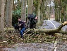 Dit was de storm in Deventer in vier foto's