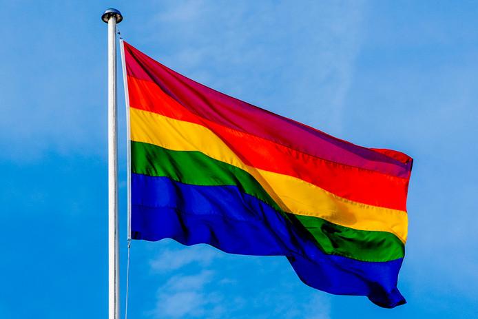 De Regenboogvlag wordt in Nederland gehesen door alle gemeenten.
